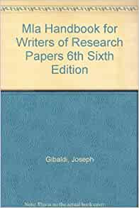 author of mla handbook for writers of research papers Mla handbook for writers of research papers (7th mla now requires the inclusion of issue and mla handbook for writers of research papers (7th edition) author.