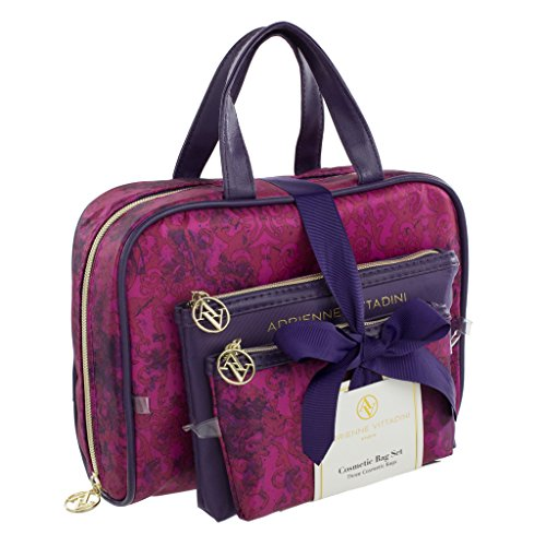 adrienne-vittadini-set-of-3-satchel-cosmetic-cases-purple-damask