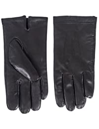 Klondike Men's Touch Leather Glove with Plush Terry Lining