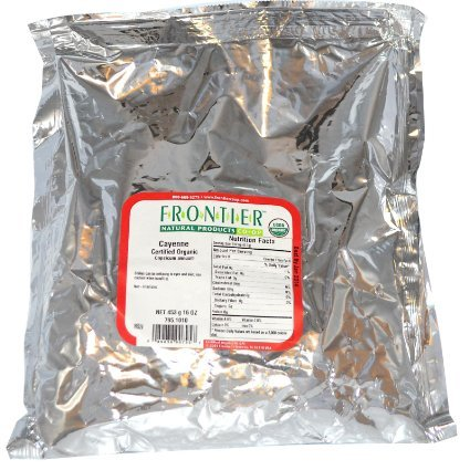 Frontier Natural Products Cayenne Ground 90000 Heat Units - 16 oz