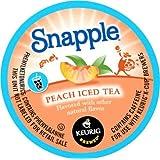 Snapple Peach Iced Tea K-Cups,Peach,22-Count/pack,2 pack