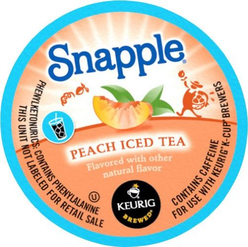 Snapple Peach Iced K Cups 22 Count product image