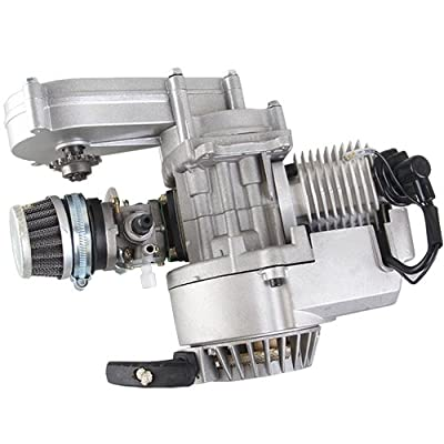 X-PRO 49cc 2 stroke Engine w/Automatic Transmission for SSR SX50, QG50, QG50X and Pocket Mini ATVs Scooters: Automotive