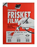 Grafix Extra Tack Frisket Film Sheets 9-Inch-by-12-Inch, Pack of 6