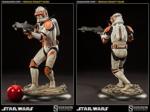 Sideshow Militaries of Star Wars Commander Cody Premium Format Figure Statue (Star Wars Dc 15 Blaster Rifle Toy)