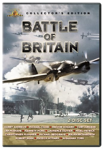 Battle of Britain [USA] [DVD]: Amazon.es: Harry Andrews, Michael Caine, Trevor Howard, Curd Jürgens, Ian McShane, Kenneth More, Laurence Olivier, Nigel Patrick, Christopher Plummer, Michael Redgrave, Ralph Richardson, Robert Shaw, Patrick Wymark,