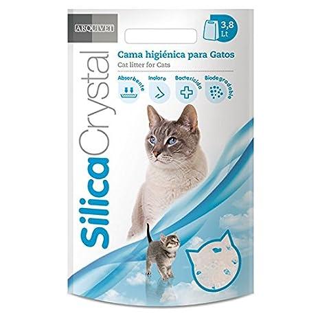 Arquivet 8014080705542 - Silicacrystal 3,8 l: Amazon.es: Productos para mascotas