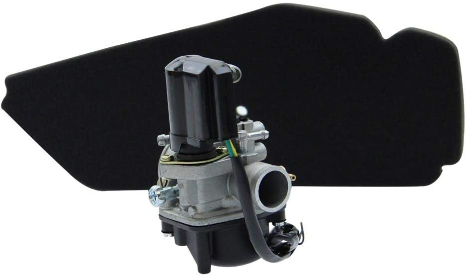 17,5mm Sport Vergaser E-Choke Luftfilter RMS Citomerx Unterdruckanschluss Piaggio Sfera NSL NSL 50 NS8 80