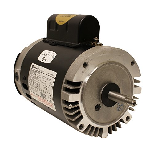 1 HP, 3450 RPM, 1 Speed, 230/115 Volts, 7.2/14.4 Amps, 1.4 Service Factor, 56J Frame, PSC, ODP Enclosure, C-Face Pool Motor - A.O. Smith B128