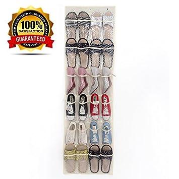 24 Pvc Bolsillos Sobre Durable La Zapatos Puerta Organizador De 34RAjL5q
