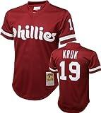 Mitchell & Ness John Kruk Philadelphia Phillies Authentic 1991 Batting Practice Jersey