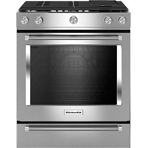 Price comparison product image KITCHENAID KSDB900ESS 30-Inch 5-Burner Dual Fuel Convection Slide-In Range with Baking Drawer