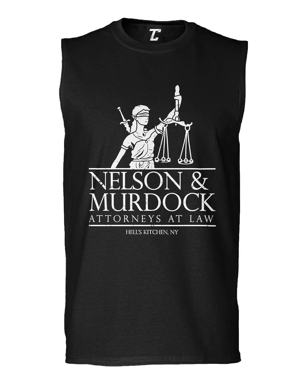 Comic Book Mens Sleeveless Shirt Nelson /& Murdock Attorneys at Law