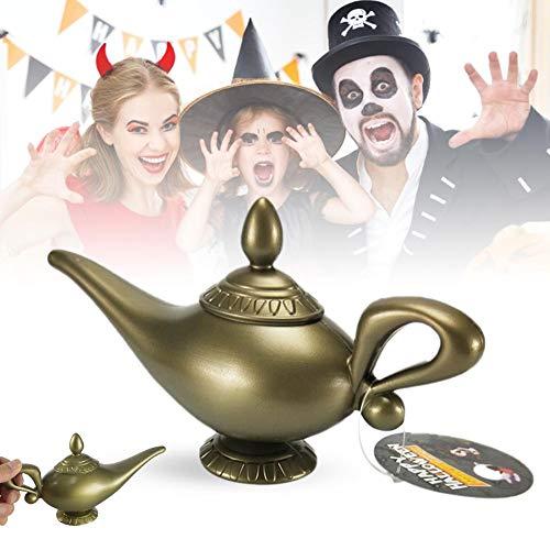 Genie Lamp Halloween Costume - Macddy Plastic Cosplay Magic Halloween Panto