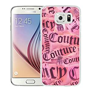 Fahionable Custom Designed Samsung Galaxy S6 Cover Case With Juicy 07 White Phone Case