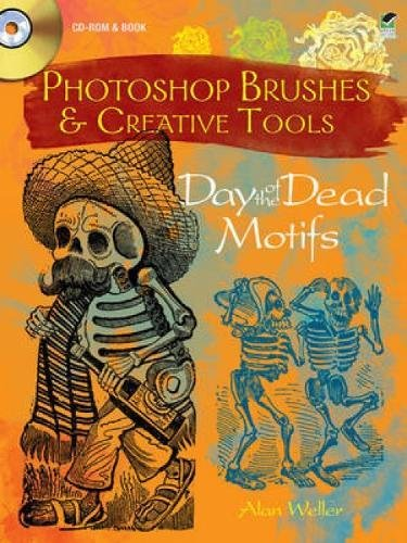 Photoshop Brushes & Creative Tools: Day of the Dead Motifs (Electronic Clip Art Photoshop Brushes)