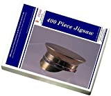 Media Storehouse 400 Piece Puzzle of WWI brass snuffbox modelled as British Army service cap (14150329)