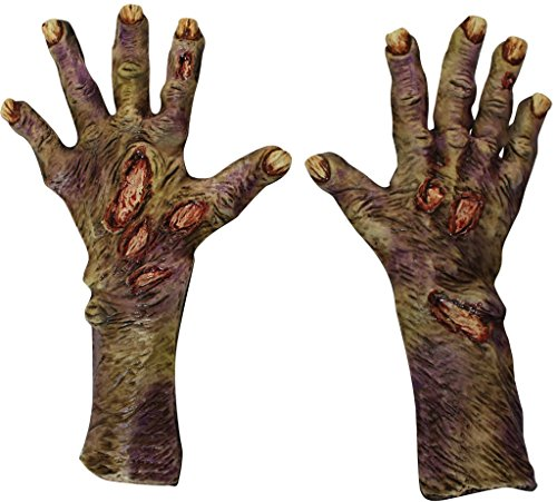 Long Rotted Zombie Gloves -