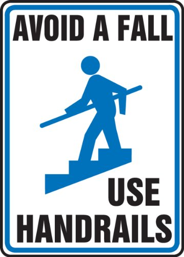 Accuform Signs MSTF505VP Plastic Safety Sign, Legend