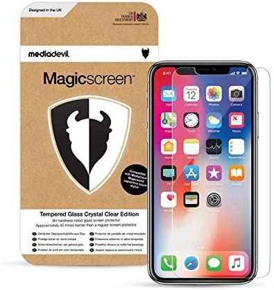 2-Pack Tempered Glass with Easy-Installation Positioning Frame MediaDevil Screen Protector for iPhone 11 and iPhone XR