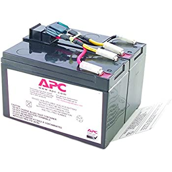 amazon com replacement battery for apc smart ups sua750 set of apc rbc48 ups replacement battery cartridge for smt750 sua750 and select others