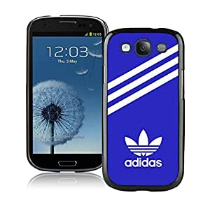 Fahionable Custom Designed Samsung Galaxy S3 I9300 Cover Case With Adidas 30 Black Phone Case