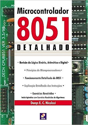 livro microcontrolador 8051 detalhado