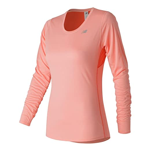 aa98026e Amazon.com: New Balance Women's Accelerate Long Sleeve Shirt: Clothing