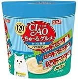 チャオ (CIAO) CIAOちゅーる グルメ かつお海鮮バラエティ 14g×120本