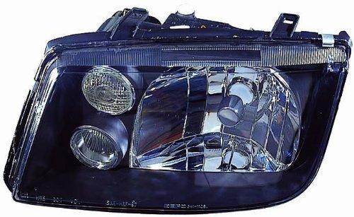 - Depo 341-1106P-USF2 Volkswagen Jetta Headlight with Fog Lamp and Black Bezel