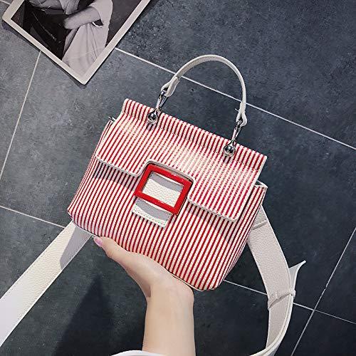 d'été de Sac Rouge coréenne Bag marée Petit bandoulière Sac WSLMHH Messenger Sauvage Version Paquet la à Main Mode qwP8xf8C