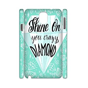 3D Samsung Galaxy Note 3 Case Diamond Quotes, Stevebrown5v, [White]