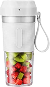 Portable Juicer Cup, Household Rechargeable Juicer, Small Electric Juicer, Mini Cooking Water, Personal Blenders,for Home/Office/Sports/Travel/Outdoors 300ml