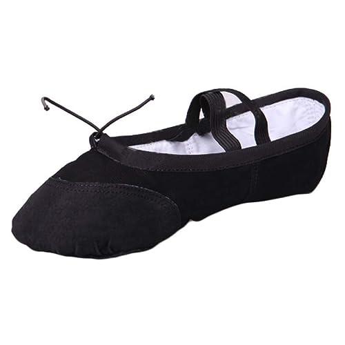 Yefree Ballet Danza Zapatos De Las Mujeres Gimnástico Yoga ...