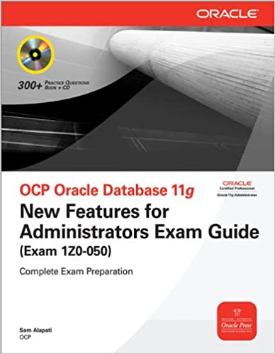 Amazon com: OCP Oracle Database 11g New Features for