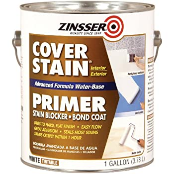 Rust Oleum 257017 Water Base Cover Stain Primer House