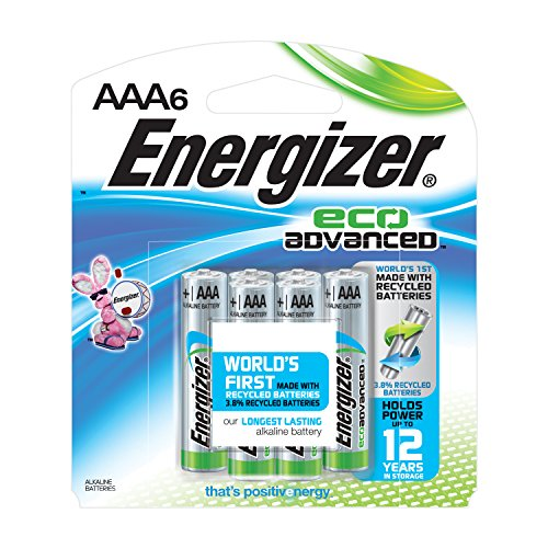 Energizer EcoAdvanced Batteries Energizers Longest Lasting