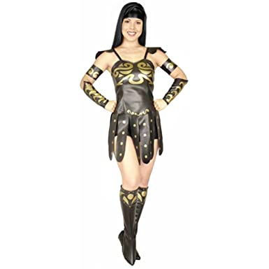 4beec3f62c Amazon.com: Adult Warrior Princess Costume: Clothing