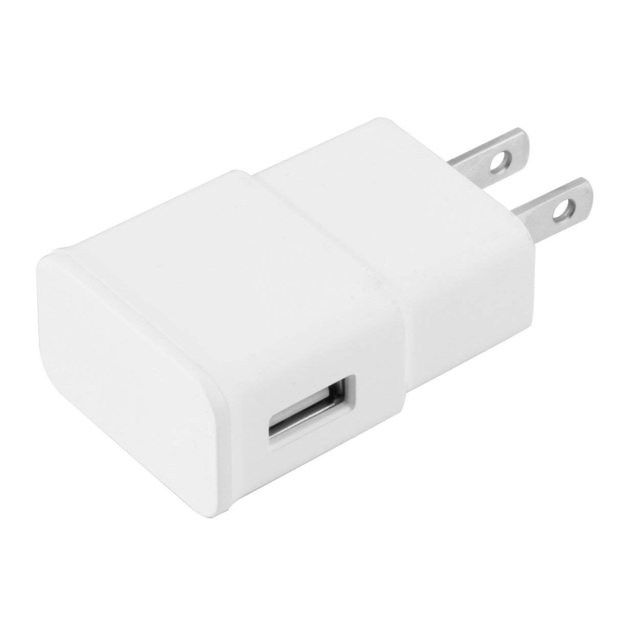 Qewmsg US Wall Charger for Samsung Galaxy Note 2 II N7100 S4 S3