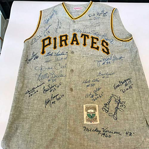 Roberto Jerseys Clemente - The Finest Pittsburgh Pirates HOF Legends Signed Roberto Clemente Jersey JSA COA