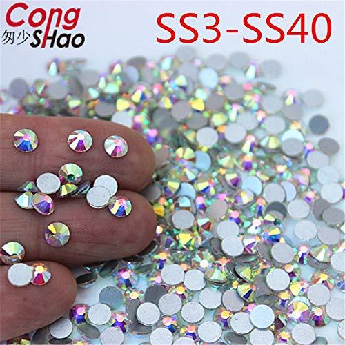 Sewing & Fabric Glitter Rhinestone Garment Crystal Nail Art ()