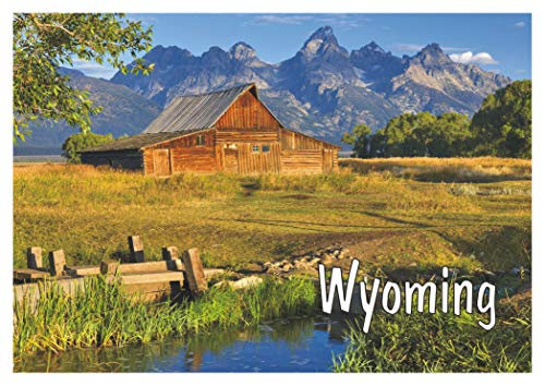 Old Barn, Grand Teton National Park, Wyoming, WY, Mountains, Travel, Souvenir, Refrigerator, Locker Magnet 2 x 3 Fridge Magnet