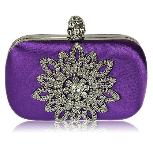 TrendStar - Cartera de mano para mujer Púrpura - Lila 2