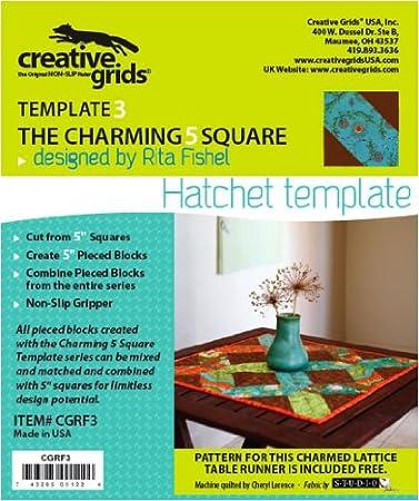 Festive Productions Ltd Creative Raster 5 Quadrat Charming vergoldet ...