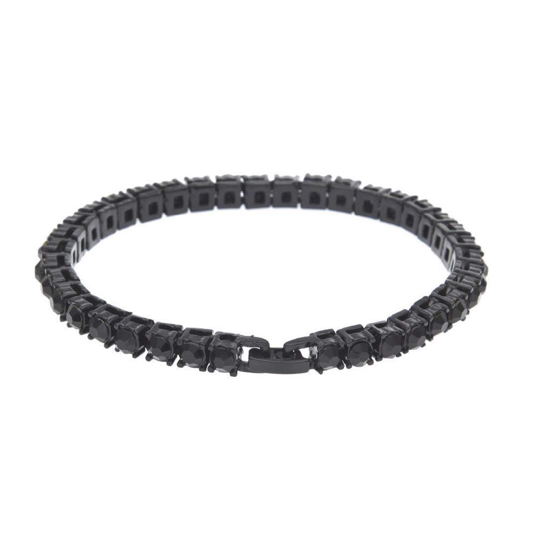 Toponly Fashion Simple Ladies Bracelet New Inlay Multi-Color Crystal Diamond Jewelry