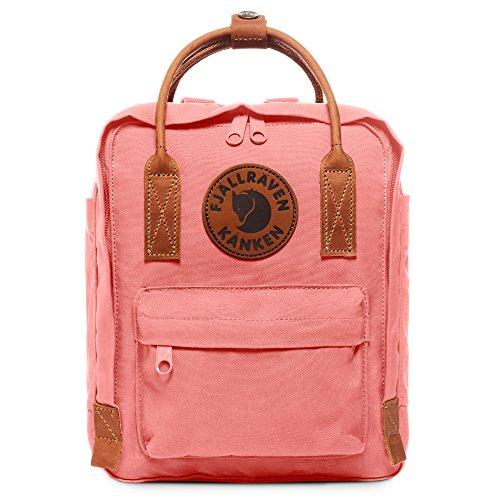 Fjallraven - Kanken No. 2 Mini Backpack for Everyday Use and Travel, Pink - Kanken Mini Backpack