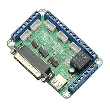 SainSmart - Tarjeta de circuito impreso de 5 ejes para ...