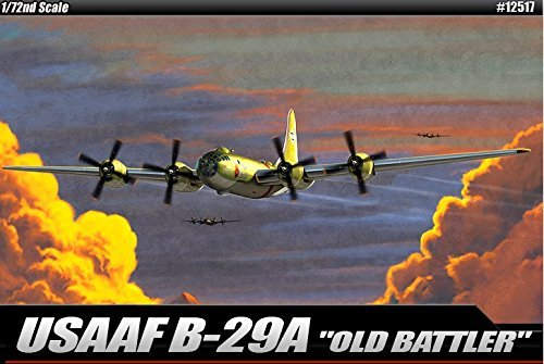 Academy USAAF B-29A Old Battler Vehicle Building Kit
