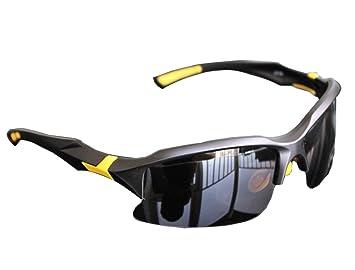 AikeSweet 40mm X 70mm Profesional polarizadas ciclismo Gafas Casual gafas de sol deportivas (Amarillo y