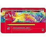 CREATIVE ART MATERIALS Caran D'ache Supracolor Metal Box Set Of 40 (3888.340)